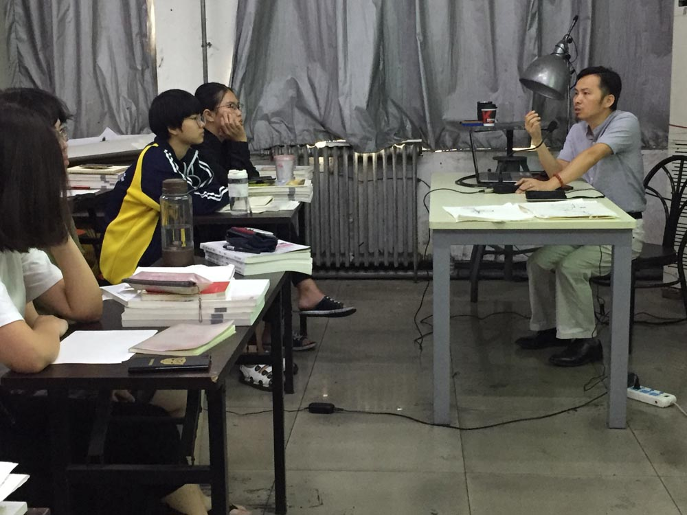 中央美院 熊新君教授清美壹佰画室授课 北京画室