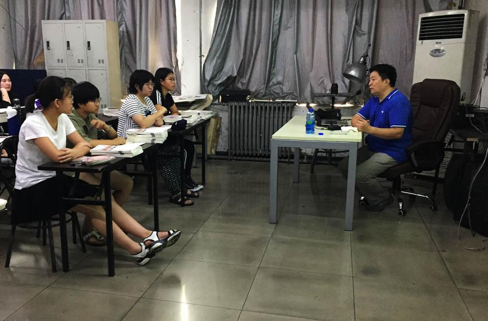 清华大学美术学院 程向君教授 清美壹佰画室授课 北京画室